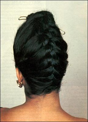 """Французская коса  """" снизу - вверх.  Прически для девочек."""